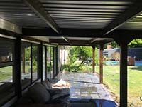Timber Covered Patio Construction